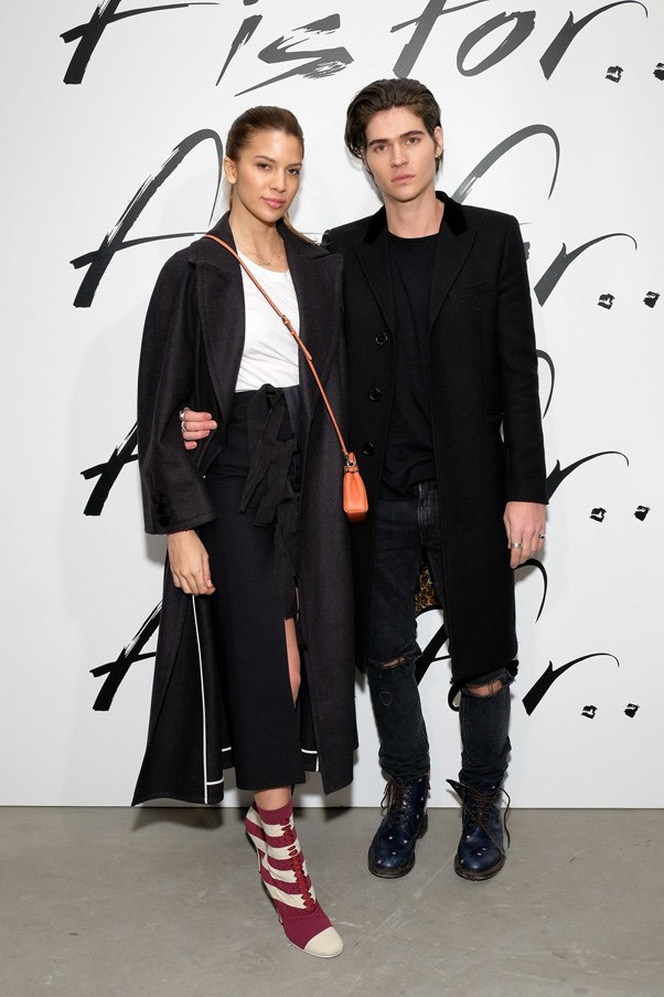 <P><strong>FENDI</strong> <BR><BR> Kenya Kinski Jones and Will Peltz