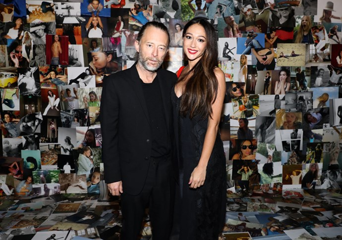 <P><strong>RAG & BONE</strong> <BR><BR> Thom Yorke and Dajana Roncione