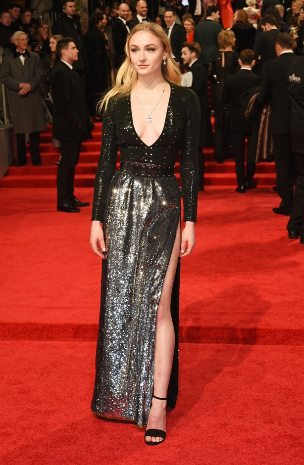 Sophie Turner in Louis Vuitton.