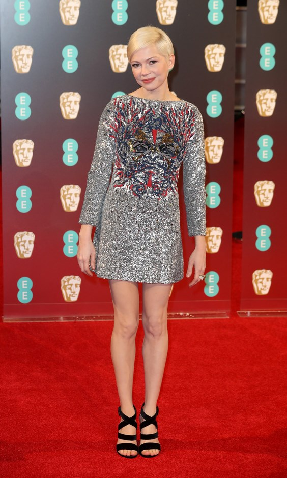 Michelle Williams in Louis Vuitton.