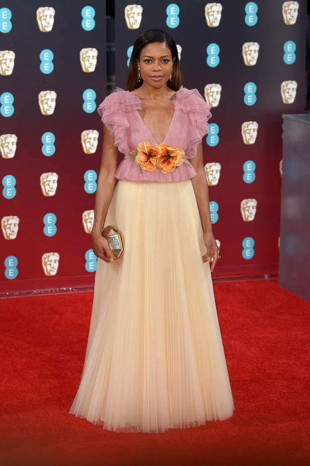 Naomie Harris in Gucci.