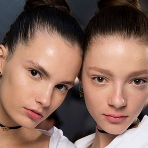 backstage runway models christian dior fashion week