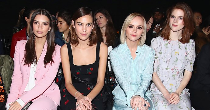 new york fashion week front row style