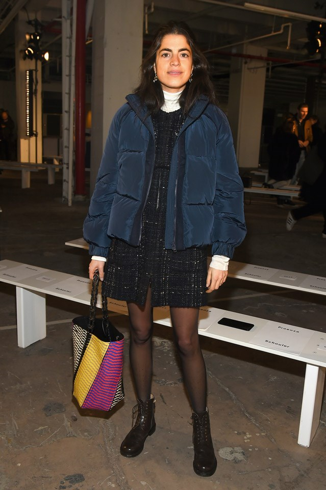 Leandra Medine at Proenza Schouler