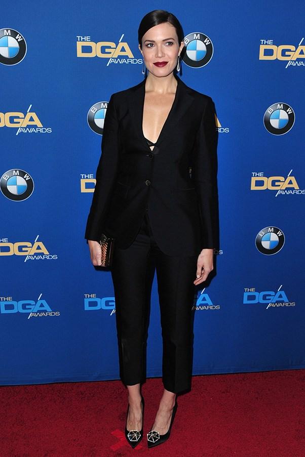 In Ferragamo at the Annual Directors Guild of America awards.