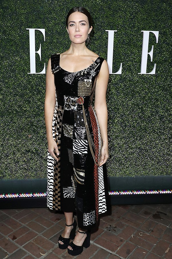 In Marc Jacobs at <em>ELLE</em>'s annual Women In Television event.