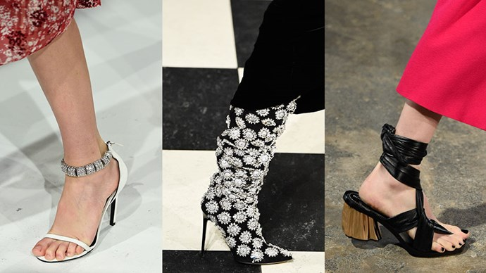 We're rounding up all the best runway looks from New York fashion week—south of the ankle.