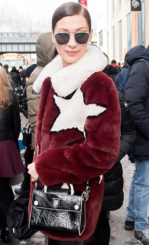 Bella Hadid Fashion Week Style