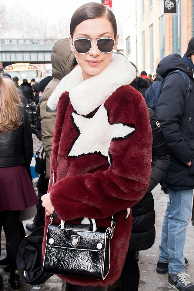 Bella Hadid New York Fashion Week Style