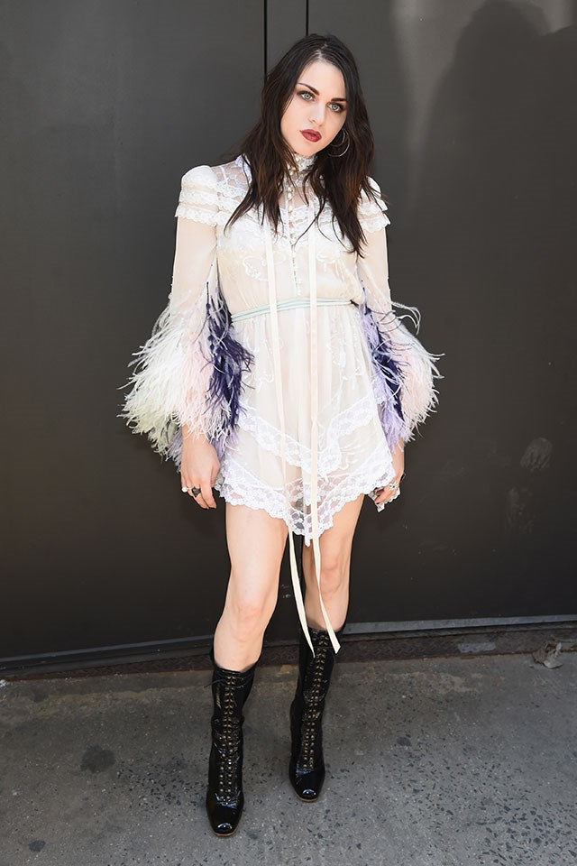 <p><strong>Marc Jacobs</strong> <br><BR> Frances Bean Cobain