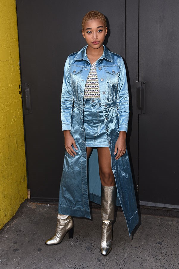 <p><strong>Marc Jacobs</strong> <br><BR> Amandla Stenberg