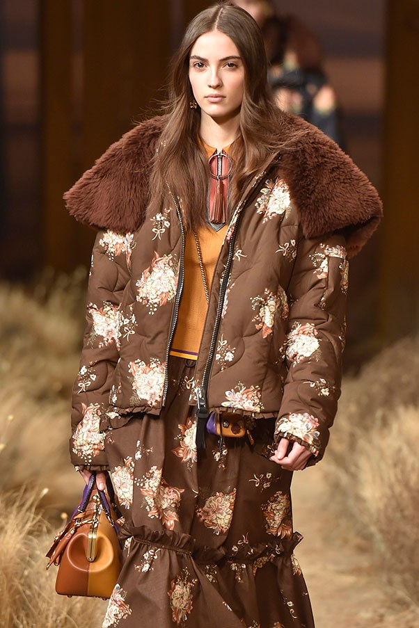 The outerwear at Coach.