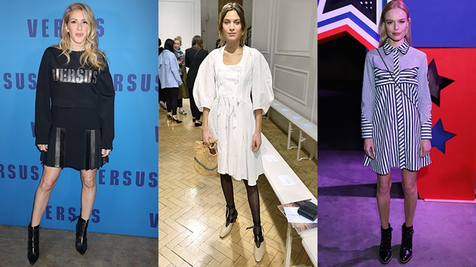 <p>Here, all of the celebrity front row appearances at this season's London fashion week.