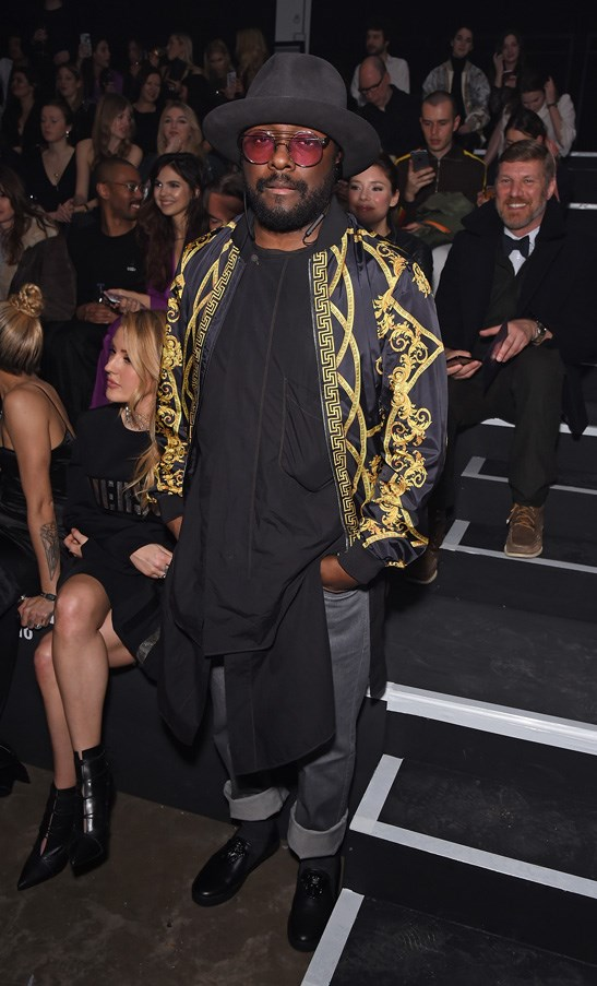 <p>Will.i.am at Versus Versace