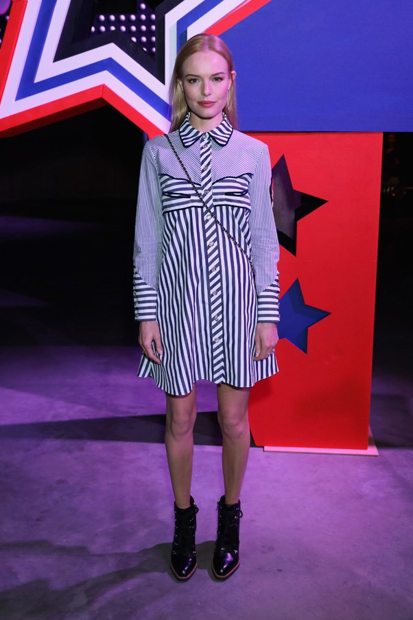 <p>Kate Bosworth at House of Holland