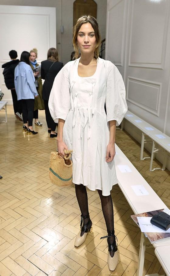 Alexa Chung at J.W. Anderson