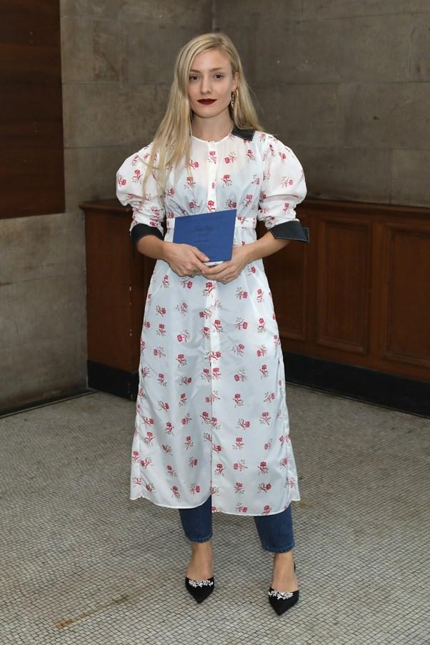 Kate Foley at Emilia Wickstead