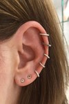 Ear piercing guide