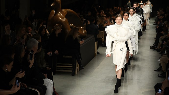 Burberry Runway London Fashion Week