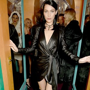 Bella Hadid Kendall Jenner Goth Style