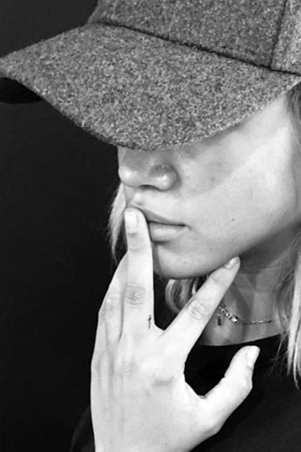 "<strong>Sofia Richie</strong> <br></br> Via <a href=""https://www.instagram.com/jonboytattoo/?hl=en"">@jonboytattoo</a>"