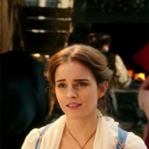 Emma Watson singing Belle in Beauty and the Beast