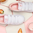 Get Ready To Want FILA's New Strawberry Milk Sneakers image