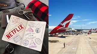 Qantas Netflix