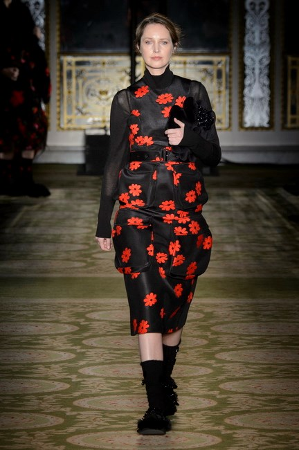 <p> <strong>Simone Rocha</strong><p> <p> It's a season of speaking out, and while there have been protests again ageism happening outside the collections in London, Simone Rocha answered the call on the runway with several generations of women walking for her show, including 50-year-old Cecilia Chancellor, our new favourite follow.