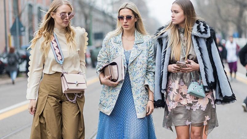 Street Style Milan Fashion Week Autumn Winter 17 Elle