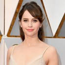 Felicity Jones Goes Short At The Oscars In Sparkling Dior image