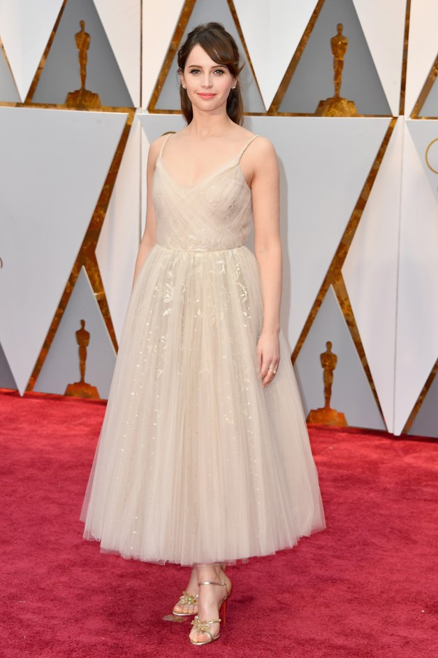 Felicity Jones in Christian Dior Couture