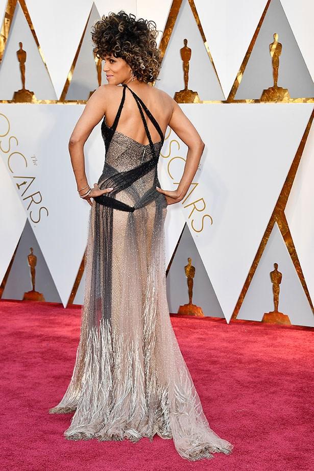 Halle Berry in Versace