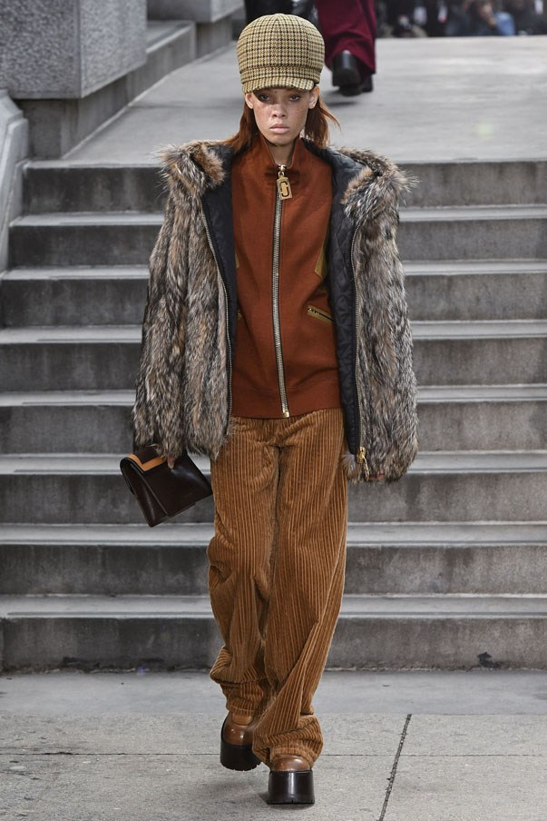 <strong>SAGITTARIUS</strong> <br><br> To some people's dismay, corduroys are officially having a moment. We know you're into comfort, which these are, but Marc Jacobs proves they can also be painfully cool as part of a hip-hop-inspired ensemble.