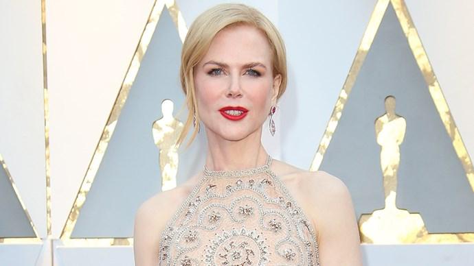 Nicole Kidman at the 2017 Oscars.