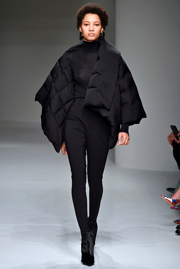 <strong>7. Salvatore Ferragamo</strong> <br><br> This was the second collection by Fulvio Rigoni for Salvatore Ferragamo and, while he largely kept things pared-back and streamlined, this modern take on the puffa jacket in quilted black is the cool and comfy piece we'll be wanting come June.