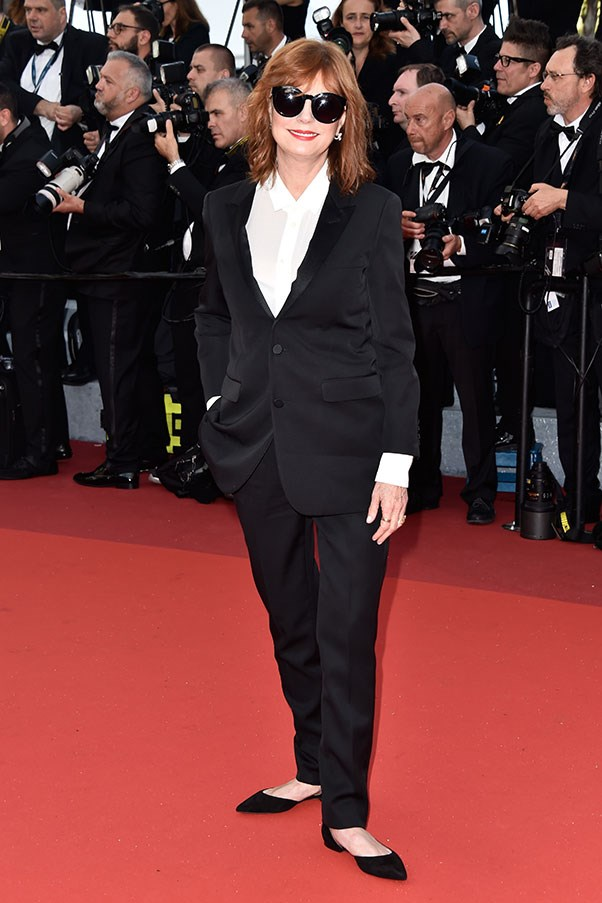 <p> Susan Sarandon at Cannes, May 2016.