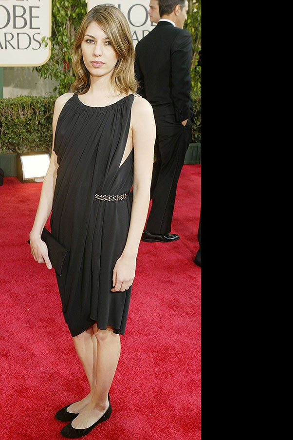 <p> Sofia Coppola at the Golden Globes, January 2004.