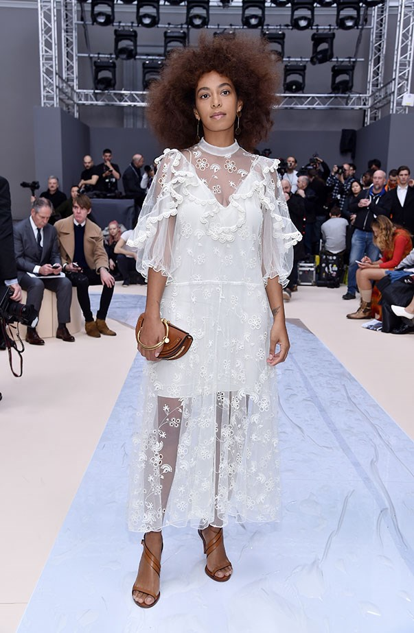 Solange Knowles at Chloé.