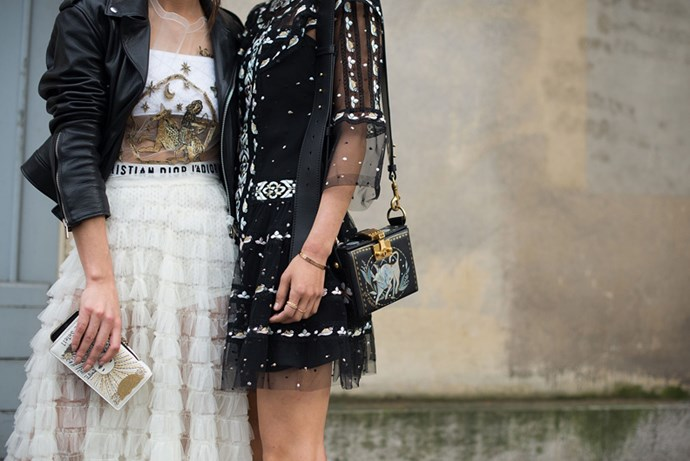 <p>We round-up the best street style from Paris fashion week, as it happens.