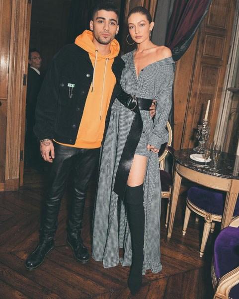 """<strong>Zayn Malik, Singer and Songwriter, Boyfriend of Gigi Hadid</strong> <br><br> <a href=""""https://www.instagram.com/gigihadid/?hl=en"""">@gigihadid</a>"""