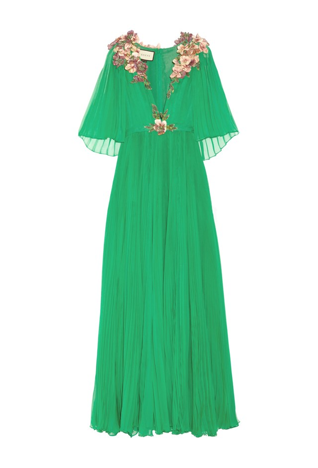 "<p> <strong>This dress, $26,651.</strong> <p> For matching her mum. <p> Dress, $26,651 <a href=""https://www.net-a-porter.com/au/en/product/643493/Gucci/embellished-plisse-silk-chiffon-gown"">Gucci at net-a-porter.com</a>"