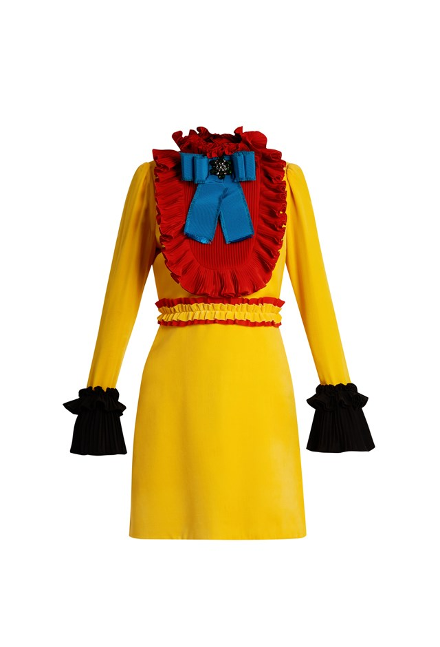 "<p> <strong>This velvet dress, $4,670.</strong> <p> For going to friends' birthday parties. <p> Dress, $4,670 <a href=""http://www.matchesfashion.com/au/products/Gucci-Ruffle-trimmed-velvet-mini-dress-1074846"">Gucci at matchesfashion.com</a>"