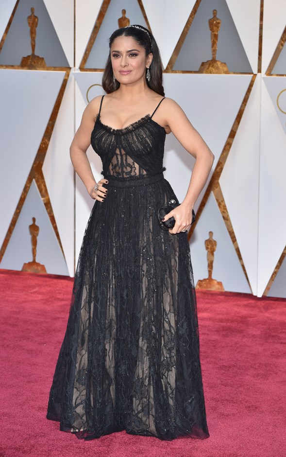 Salma Hayek at the Oscars