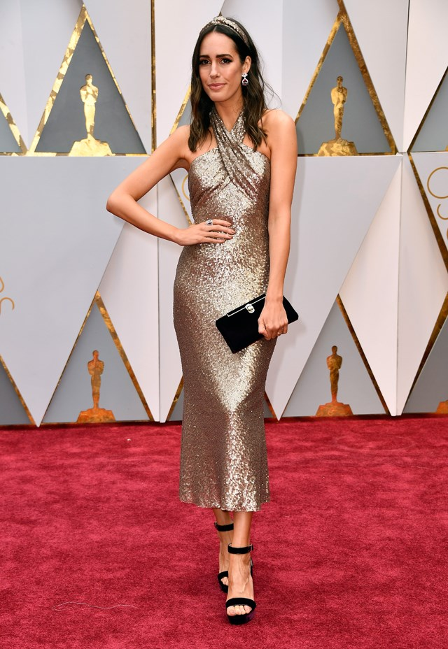 Louise Roe at the Oscars