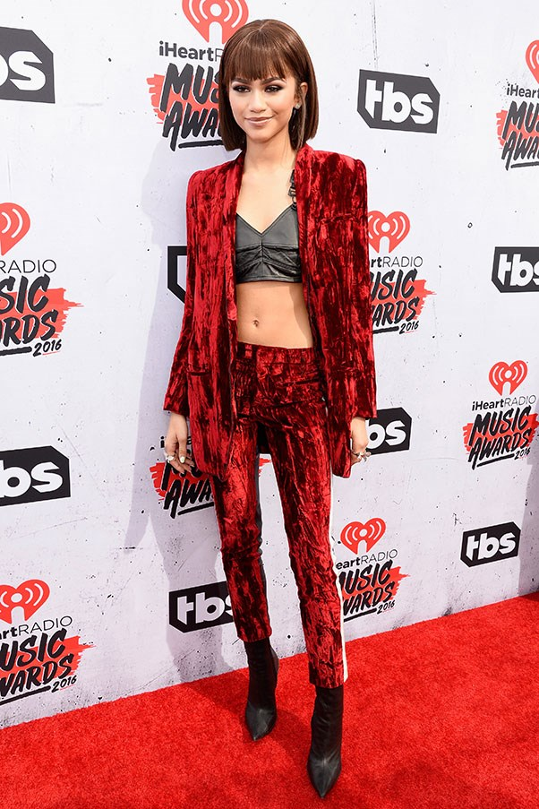 At the iHeartRadio Music Awawrds, April 2016.