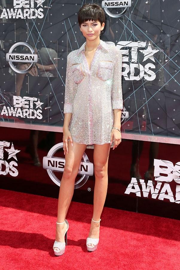 At the BET Awards, May 2015.