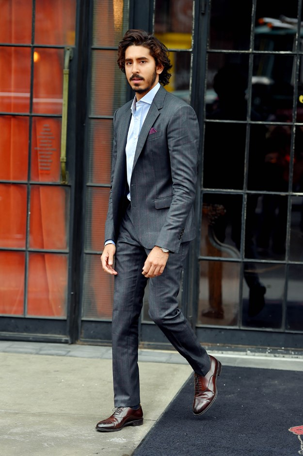 We love the super-subtle pinstripe on this suit.