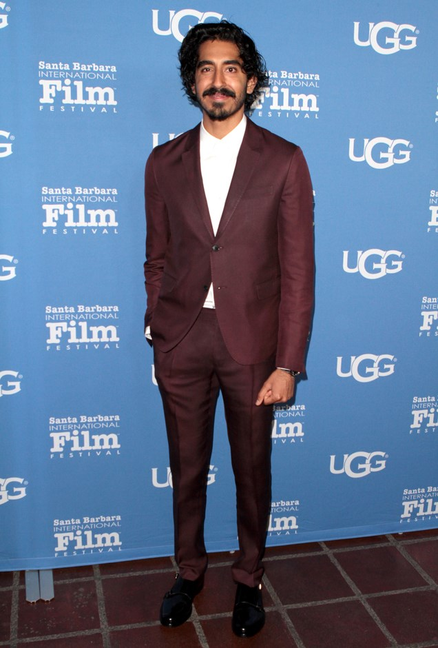 This burgundy suit is too good.
