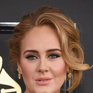Adele at the Grammy Awards.